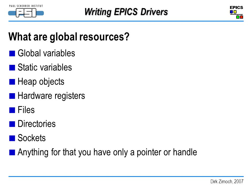 What are global resources