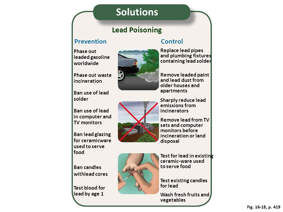 Solutions Lead Poisoning Prevention Control Phase out
