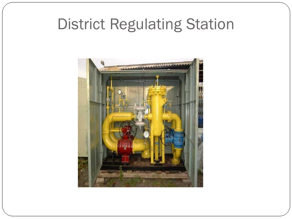 District Regulating Station