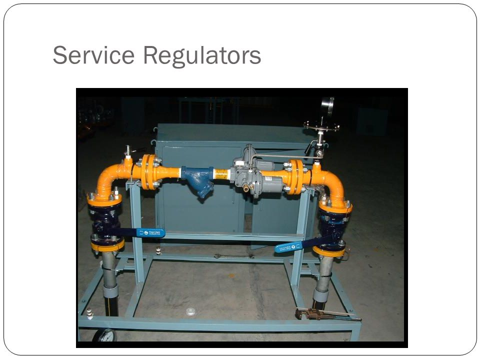 Service Regulators