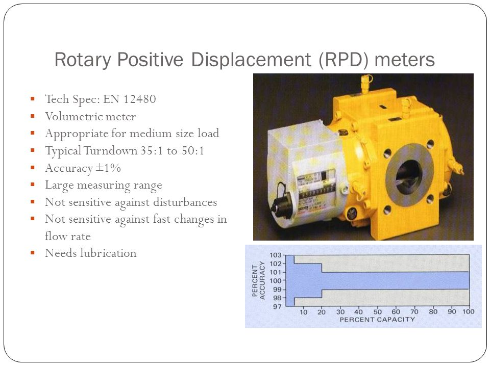 Rotary Positive Displacement (RPD) meters