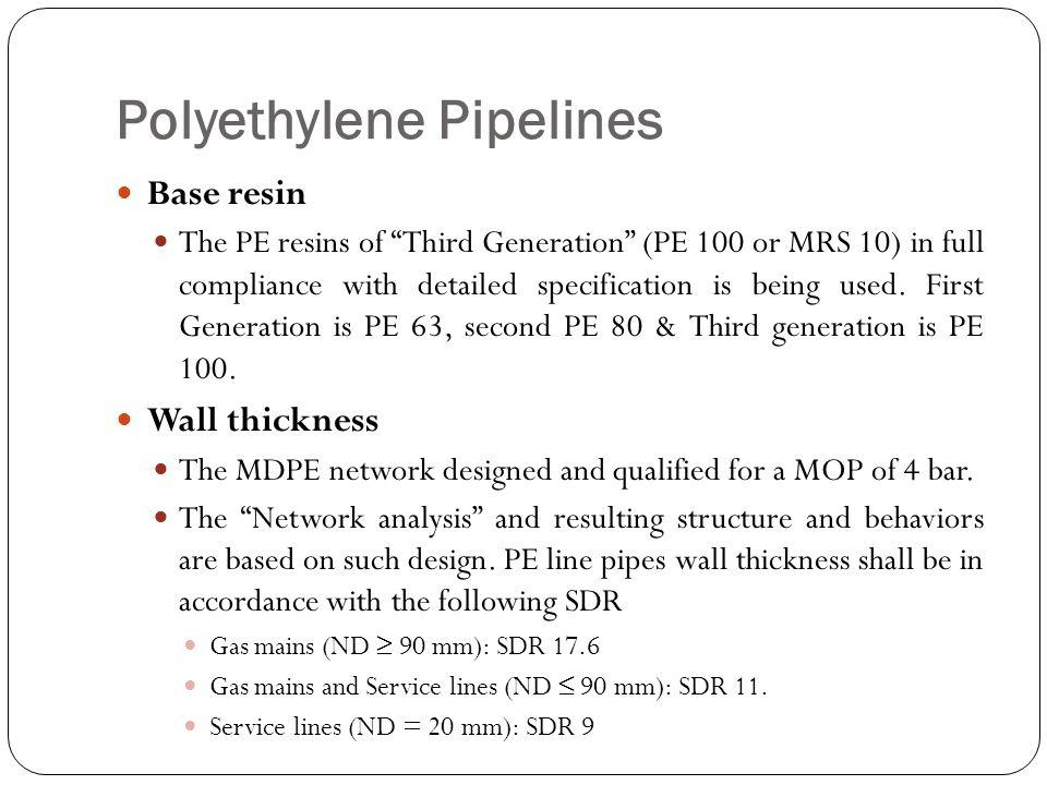 Polyethylene Pipelines