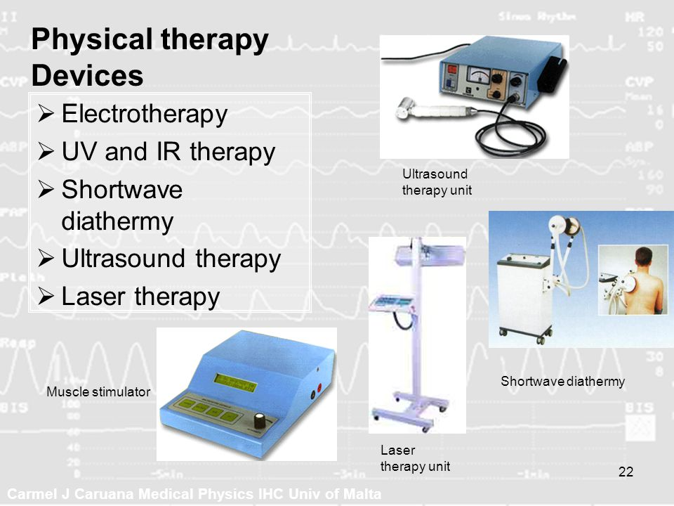 Physical therapy Devices