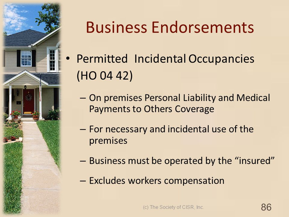 Business Endorsements