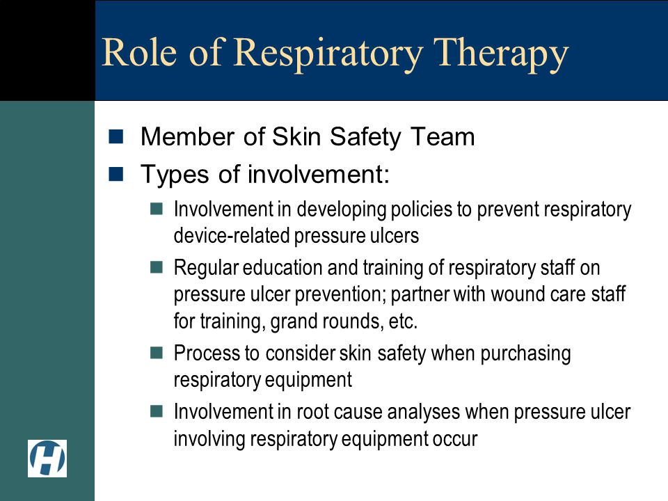 Role of Respiratory Therapy