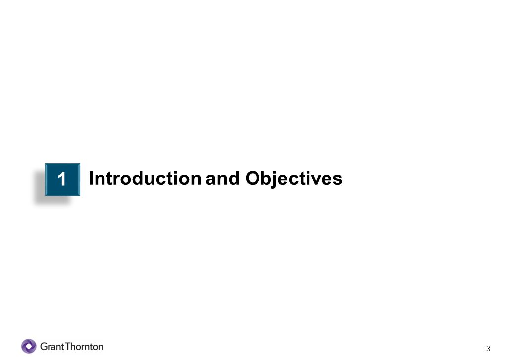 Introduction and Objectives