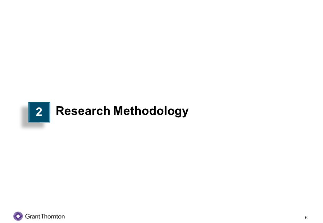 2 Research Methodology 6