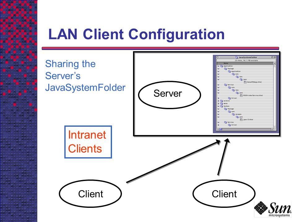 LAN Client Configuration