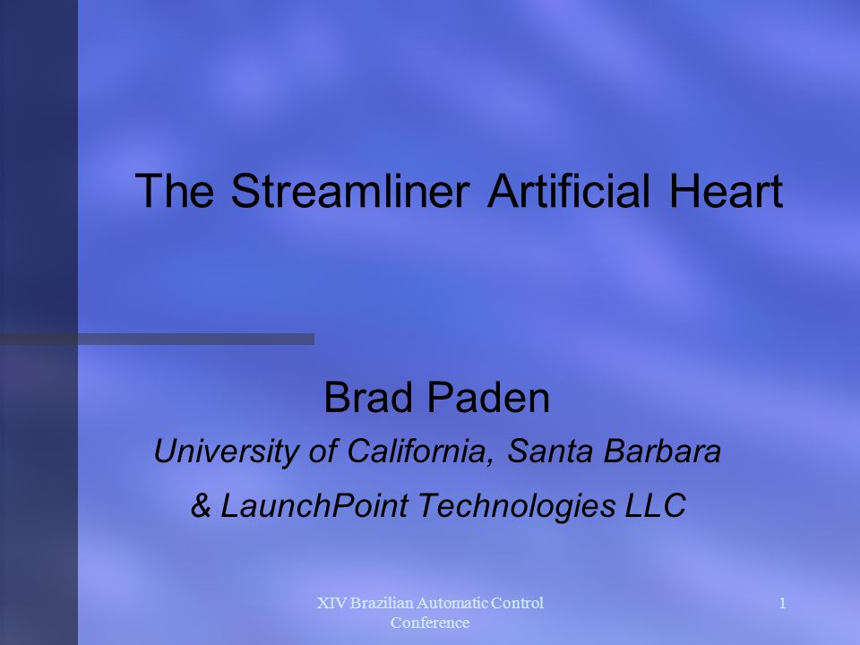 The Streamliner Artificial Heart