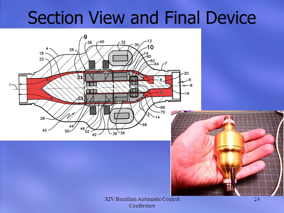 Section View and Final Device