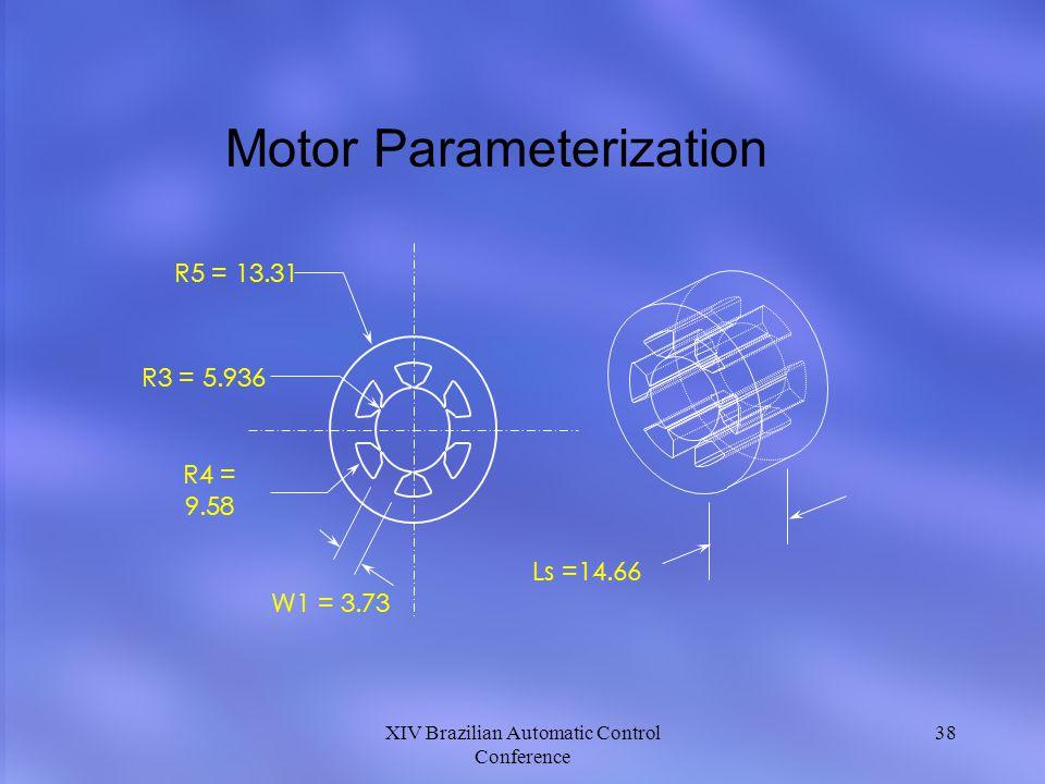Motor Parameterization