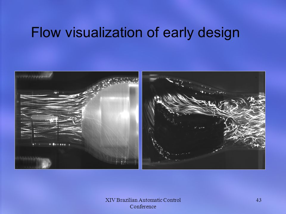 Flow visualization of early design