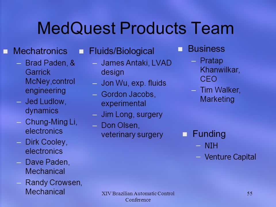 MedQuest Products Team