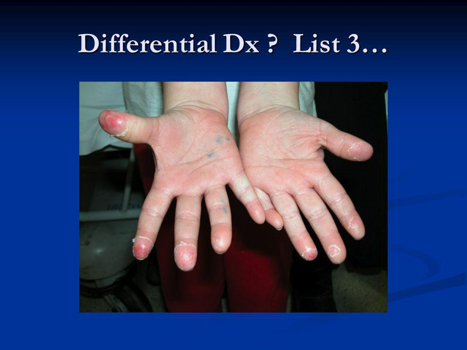 Differential Dx List 3…