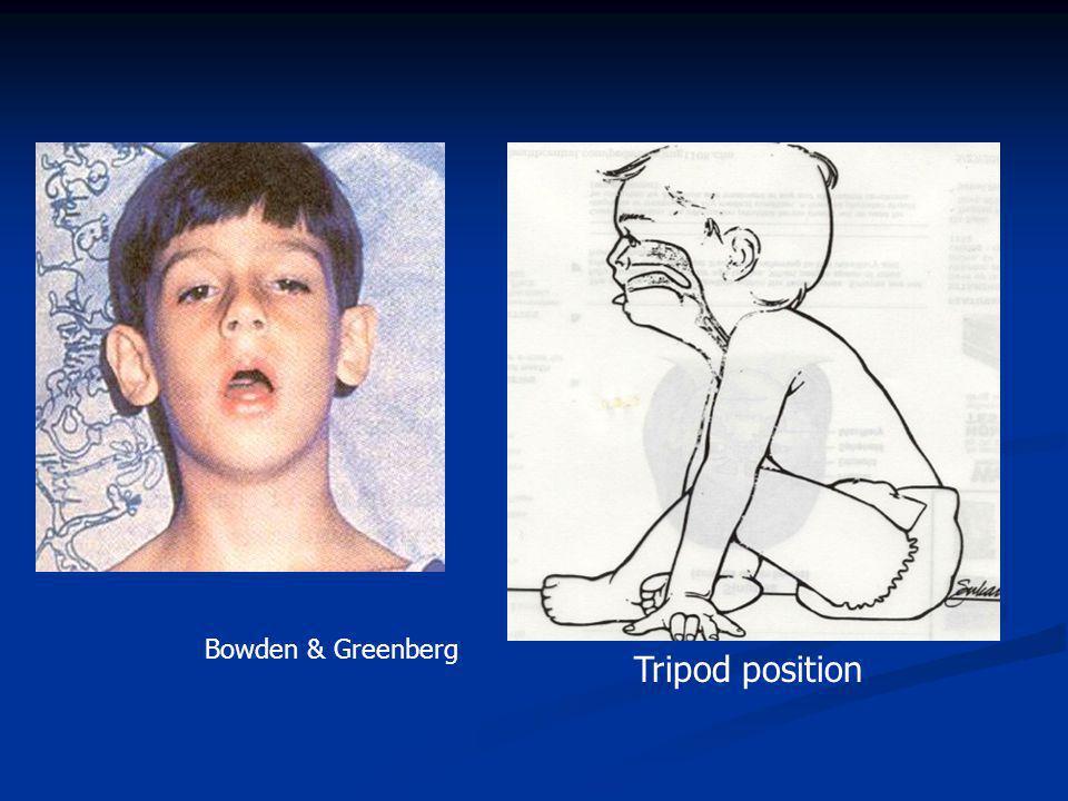 Bowden & Greenberg Tripod position