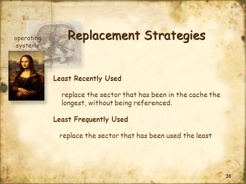 Replacement Strategies