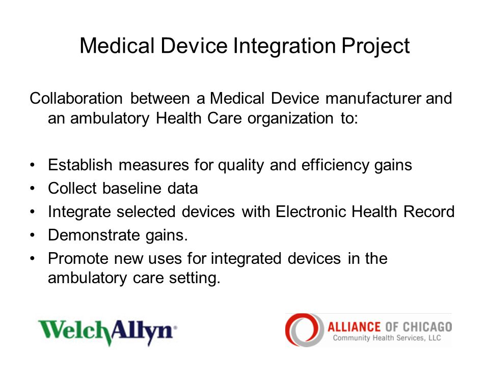 Medical Device Integration Project