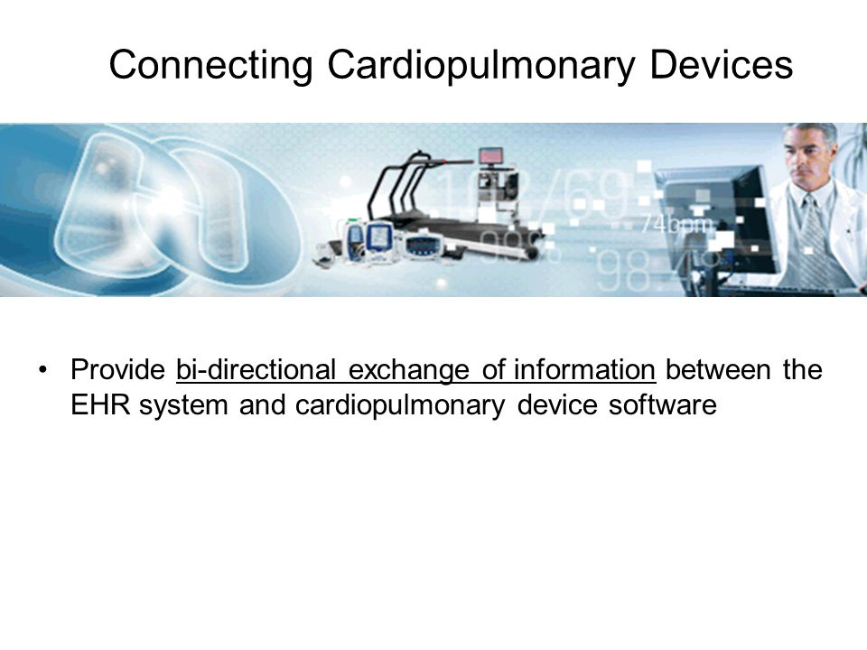 Connecting Cardiopulmonary Devices