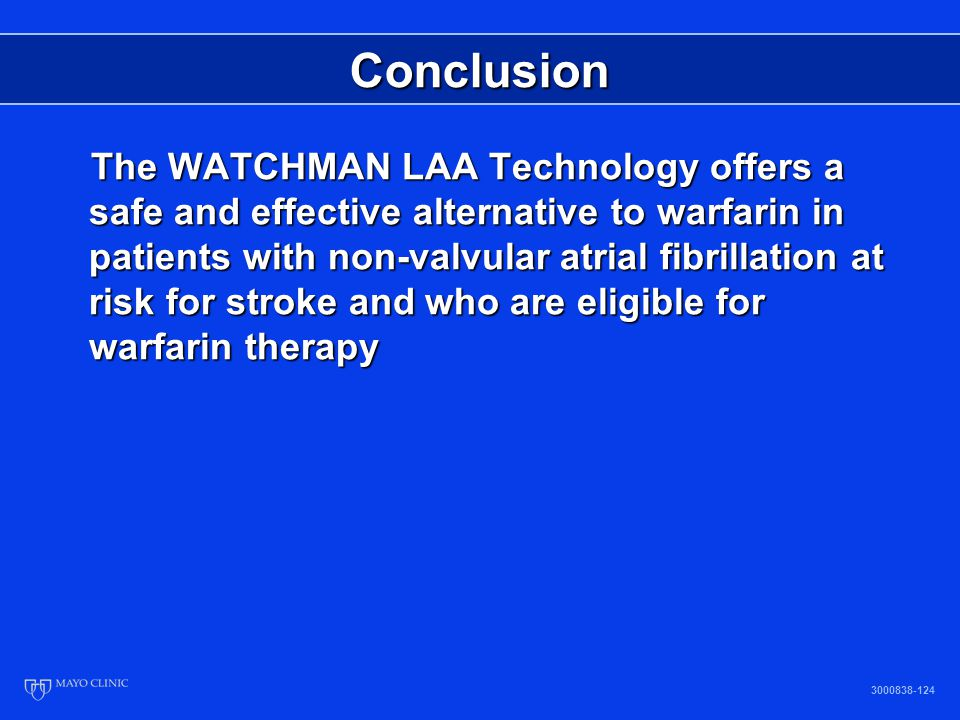 Alternatives To Coumadin Therapy