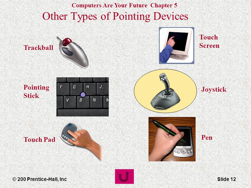 Other Types of Pointing Devices