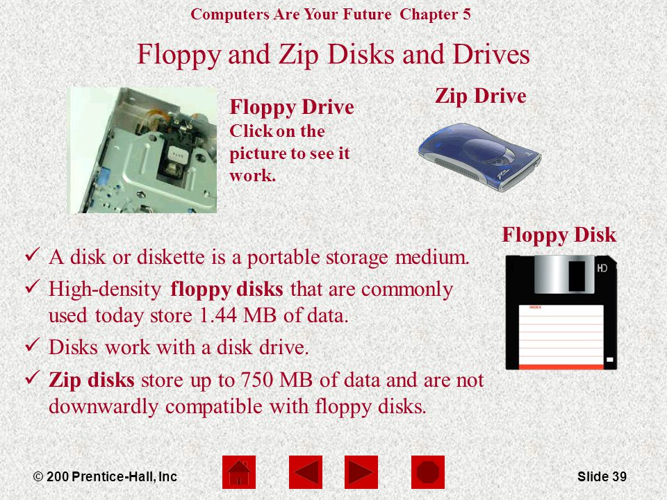 Floppy and Zip Disks and Drives