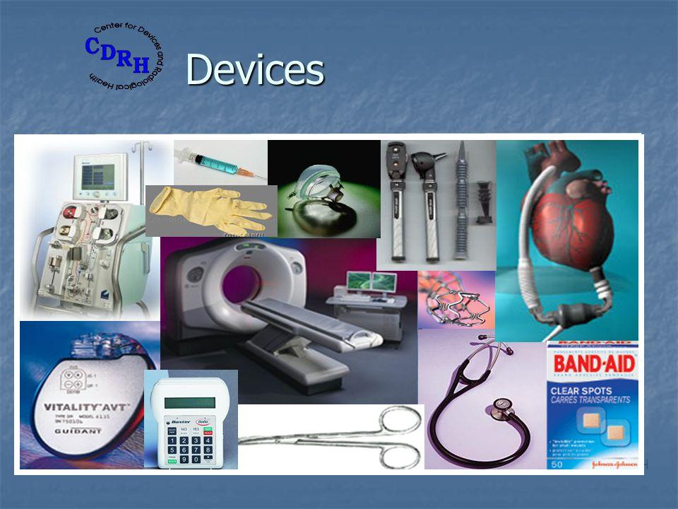 Devices HHS/FDA/CDRH