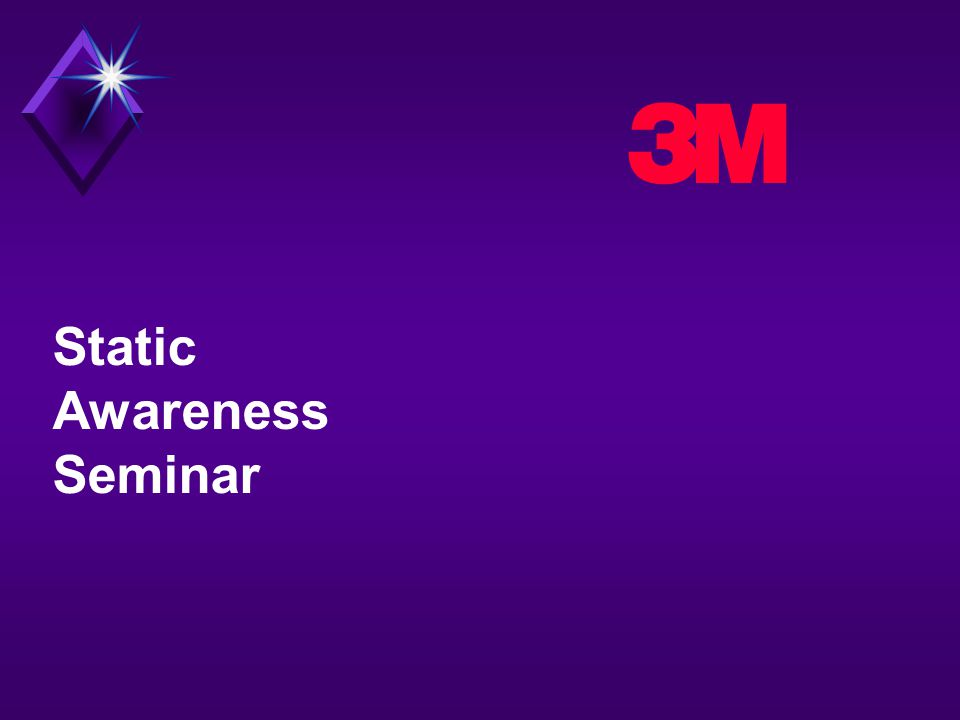 3 Static Awareness Seminar