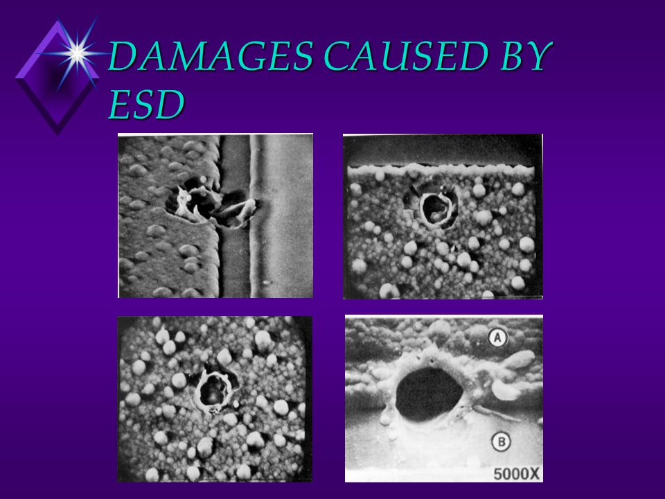 DAMAGES CAUSED BY ESD
