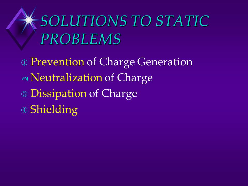 SOLUTIONS TO STATIC PROBLEMS