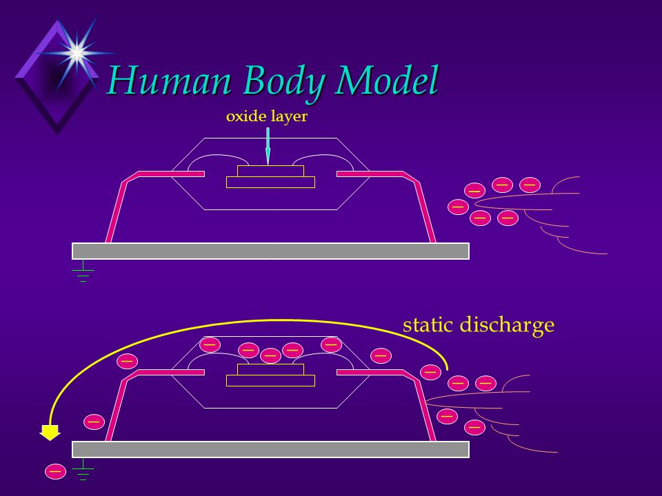 Human Body Model _ _ _ _ _ _ static discharge _ _ _ _ _ _ _ _ _ _ _ _