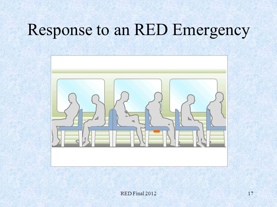 Response to an RED Emergency