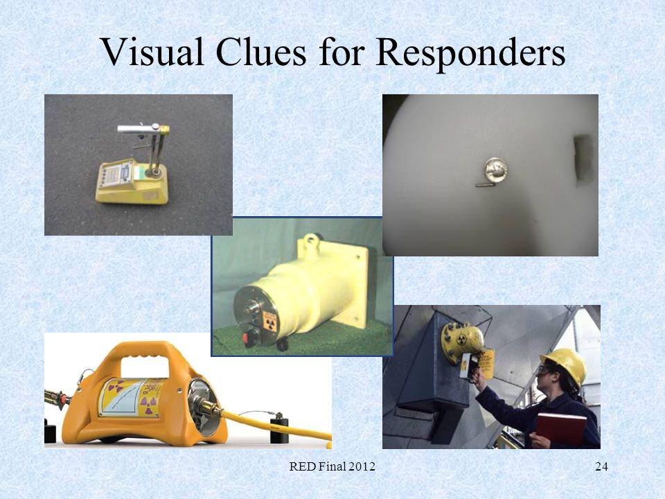 Visual Clues for Responders