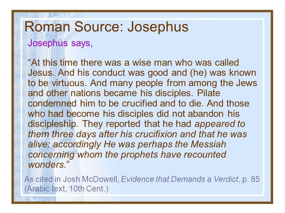 Roman Source: Josephus