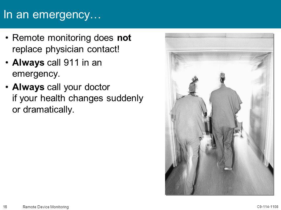 Remote Device Monitoring
