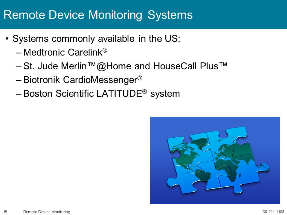 Remote Device Monitoring Systems