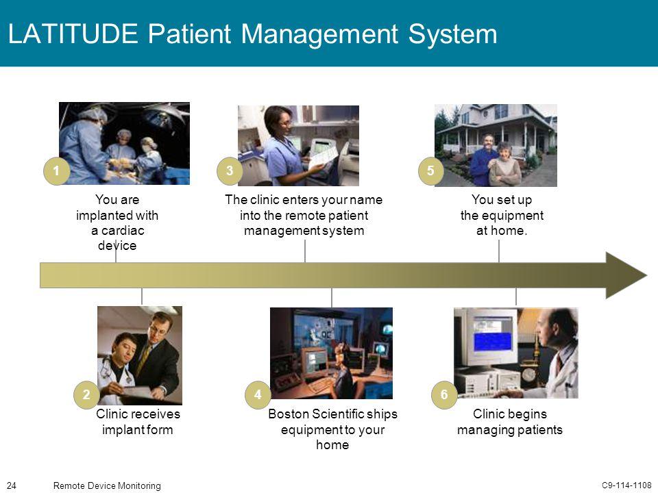 LATITUDE Patient Management System