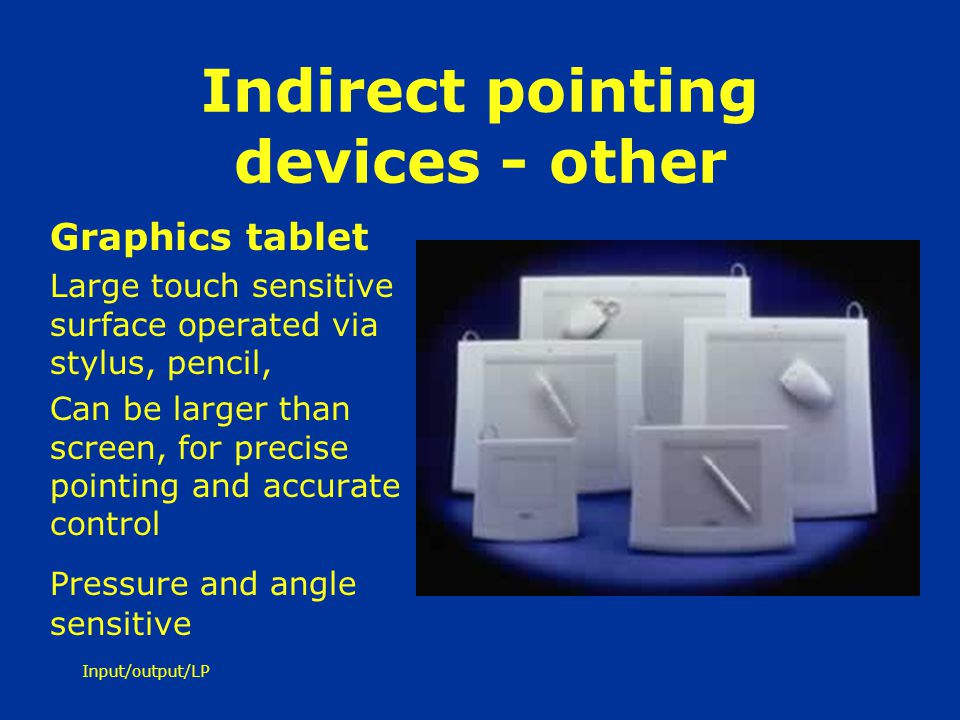 Indirect pointing devices - other