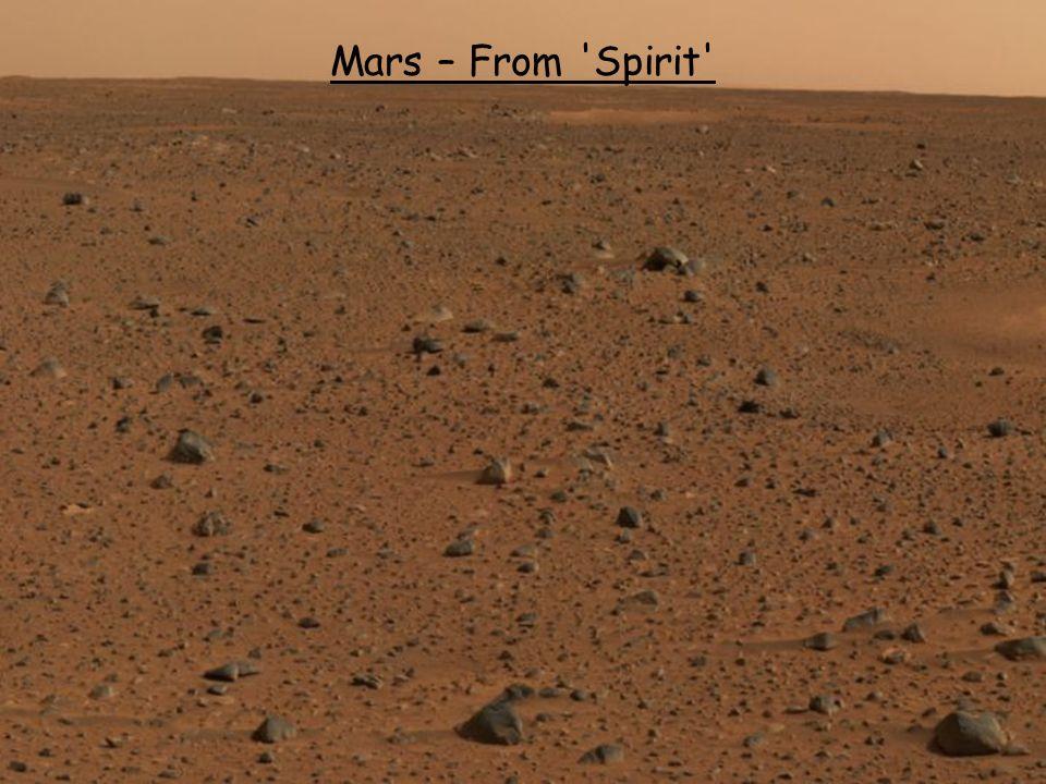 Mars – From Spirit