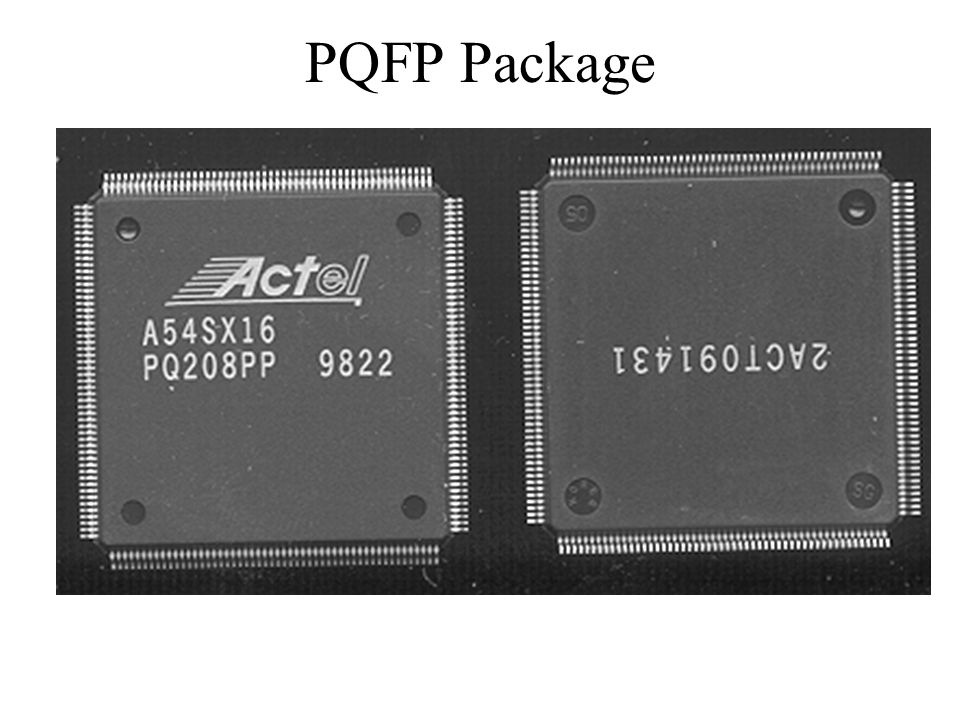 PQFP Package
