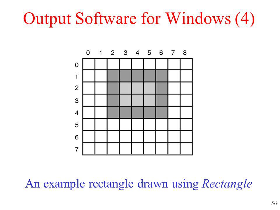 Output Software for Windows (4)