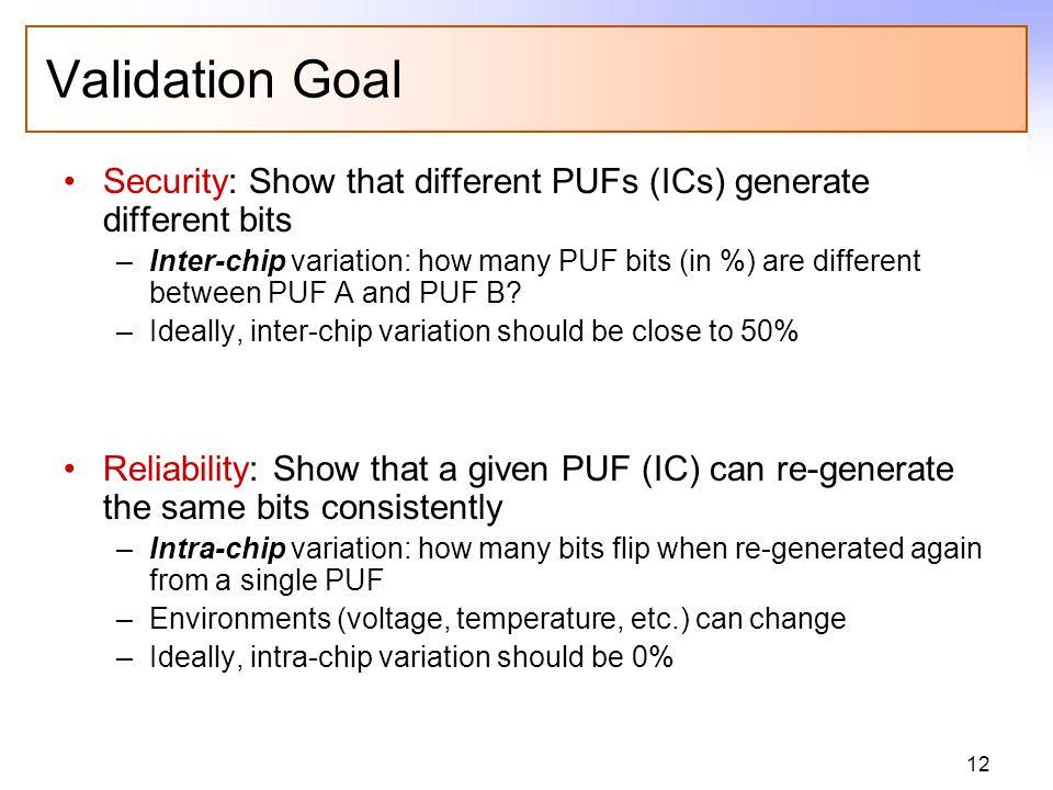 FPGA Testing 15 FPGAs (Xilinx) with 1 PUF on each FPGA