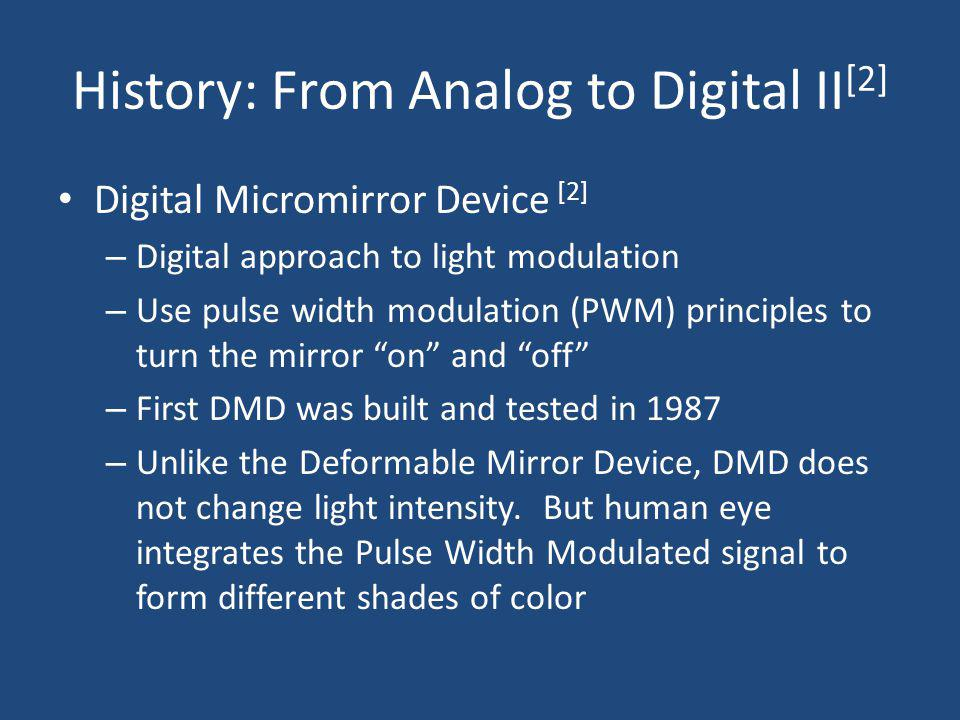 History: From Analog to Digital II[2]