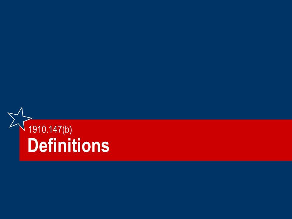 Definitions 1910.147(b)