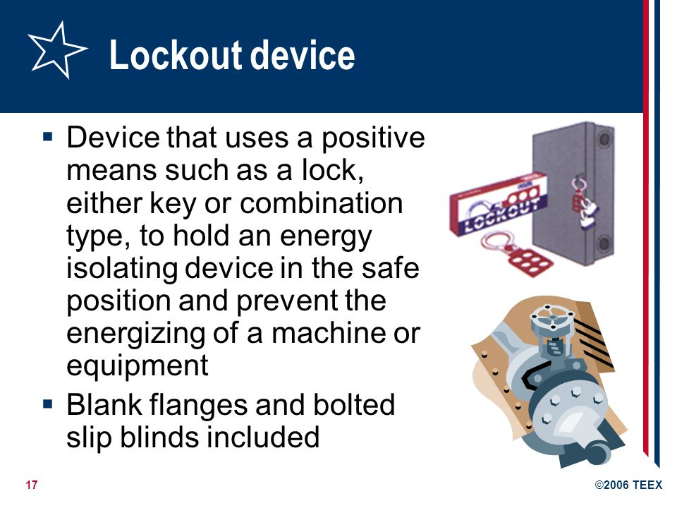Lockout device