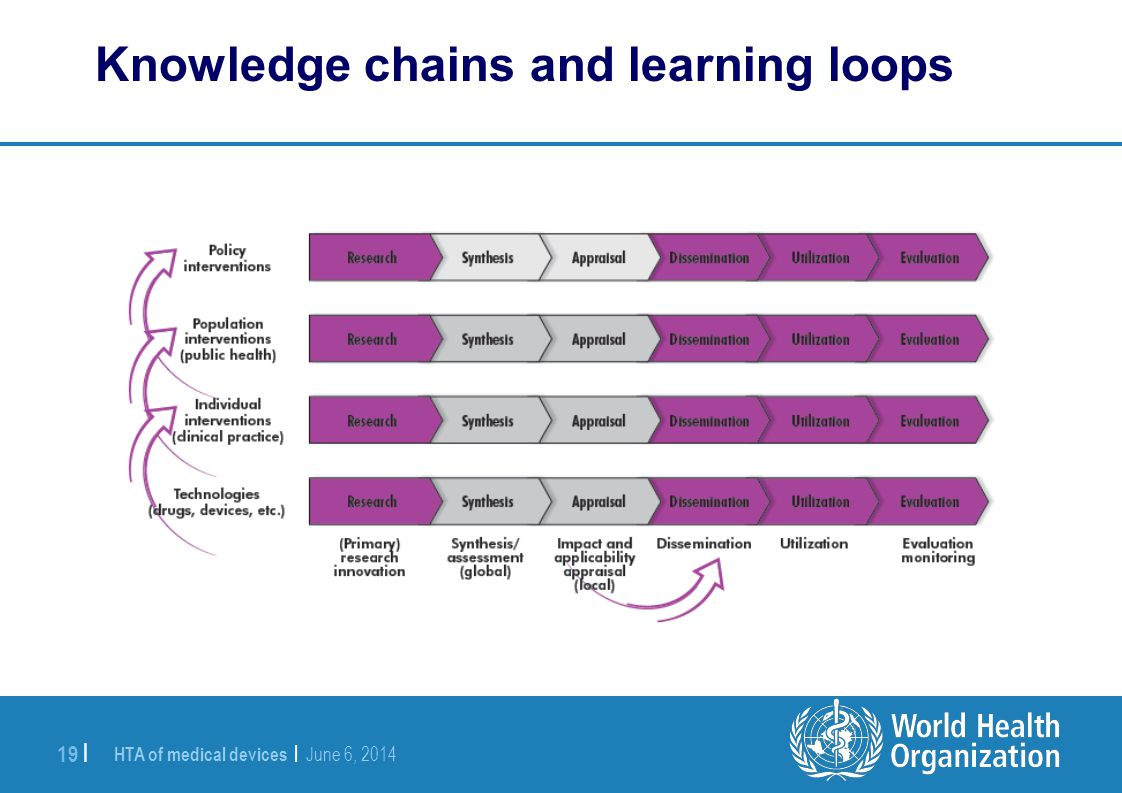 Knowledge chains and learning loops