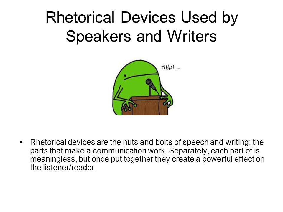 Best rhetorical devices for persuasive essays