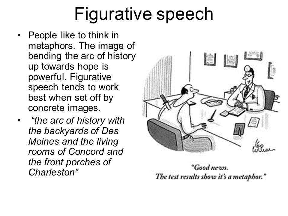 Figurative speech