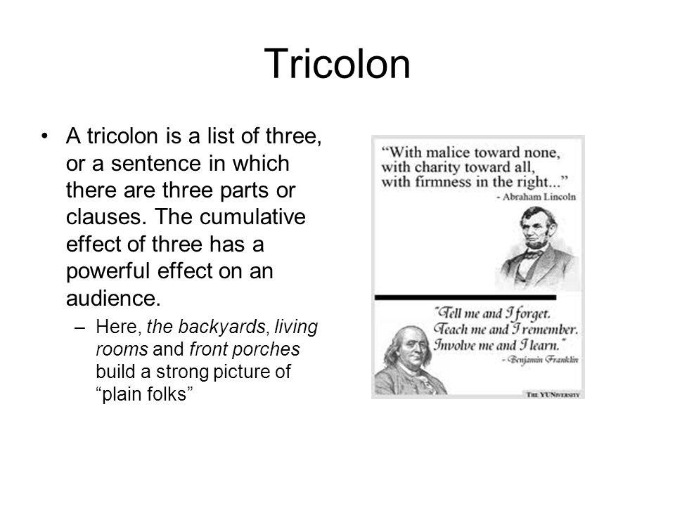 Tricolon
