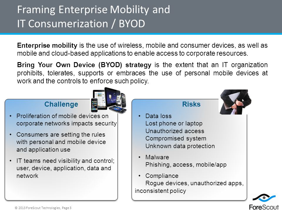 Framing Enterprise Mobility and IT Consumerization / BYOD