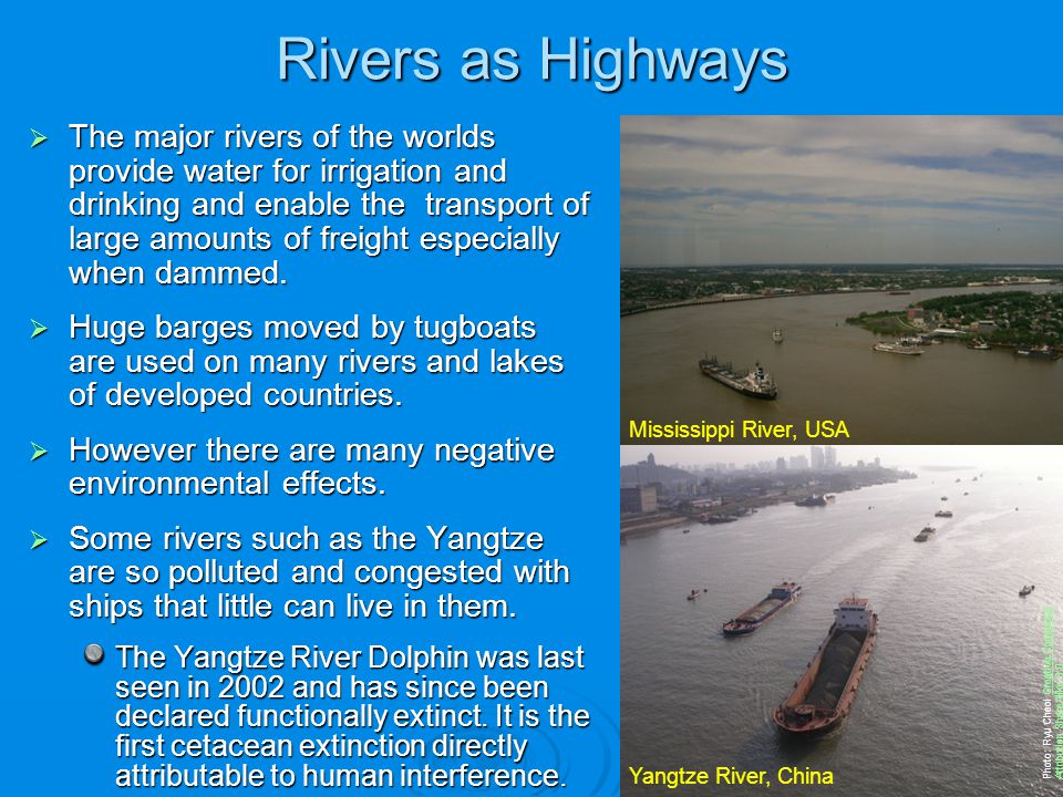 Rivers as Highways